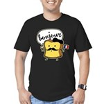 French Toast Men's Fitted T-Shirt (dark)