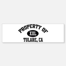 Property of TULARE Bumper Bumper Bumper Sticker