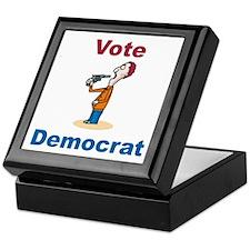 Commit Suicide, vote Democrat Keepsake Box