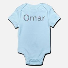 Omar Paper Clips Infant Bodysuit