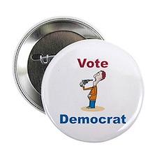 Commit Suicide, vote Democrat Button