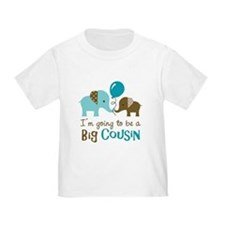 Big Cousin to be - Elephant T-Shirt