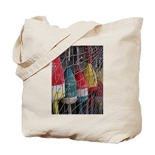 Netted Lobster Buoys Tote Bag