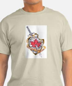 Canadian Shield Ash Grey T-Shirt
