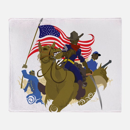 buffaloSoul.jpg Throw Blanket