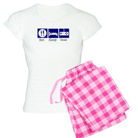 Eat, Sleep, Game Women's Light Pajamas