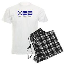Eat, Sleep, Game pajamas