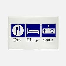 Eat, Sleep, Game Rectangle Magnet