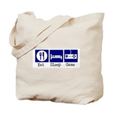 Eat, Sleep, Game Tote Bag