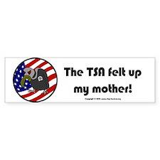 TSA/Mother Bumper Bumper Sticker