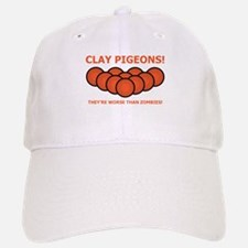 Pigeon Zombies Baseball Baseball Cap