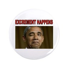 """EXCREMENT 3.5"""" Button"""