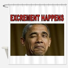 EXCREMENT Shower Curtain