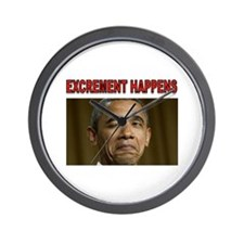 EXCREMENT Wall Clock