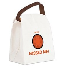 Missed Me Canvas Lunch Bag
