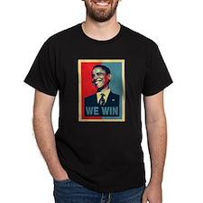 Barack Obama We Win T-Shirt