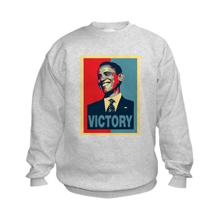Barack Obama Victory Kids Sweatshirt