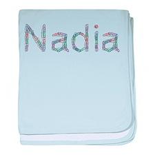Nadia Paper Clips baby blanket
