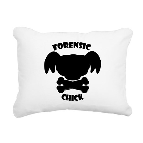 Forensic Chick Abby NCIS Rectangular Canvas Pillow