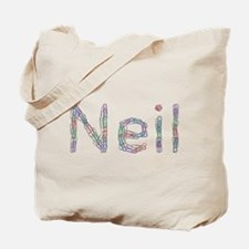 Neil Paper Clips Tote Bag