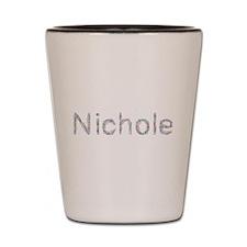 Nichole Paper Clips Shot Glass