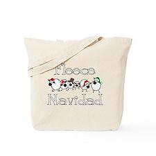 Fleece Navidad Tote Bag