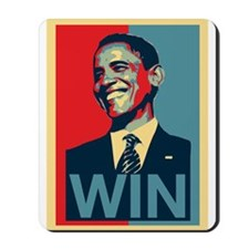 Barack Obama Win Mousepad