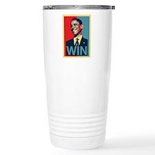 Barack Obama Win Travel Mug