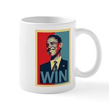 Barack Obama Win Mug