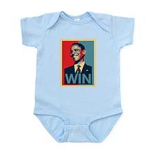 Barack Obama Win Infant Bodysuit