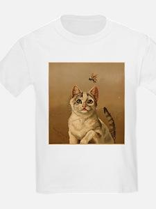 Bee Careful Kitty T-Shirt