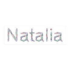 Natalia Paper Clips 36x11 Wall Peel