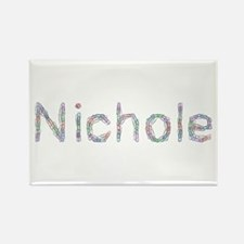 Nichole Paper Clips Rectangle Magnet