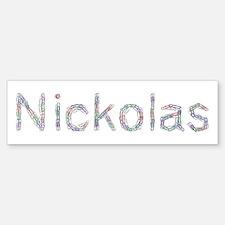 Nickolas Paper Clips Bumper Bumper Bumper Sticker