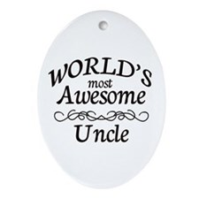 Awesome Ornament (Oval)