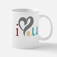 I love @ U design Mug
