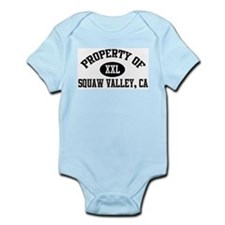 Property of SQUAW VALLEY Infant Creeper