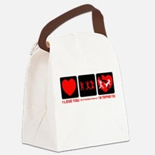 If Zombies Chase Us Canvas Lunch Bag