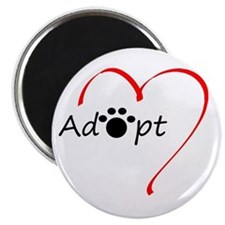 "Adopt 2.25"" Magnet (10 pack)"