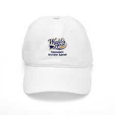 Customer Service Agent (Worlds Best) Baseball Cap