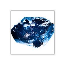 "Deep Blue Square Sticker 3"" x 3"""