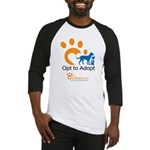 Opt to Adopt color Baseball Jersey