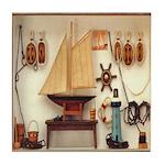 Nautical Scene Tile Coaster