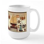 Nautical Scene Large Mug