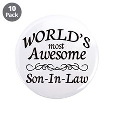 """Awesome 3.5"""" Button (10 pack)"""