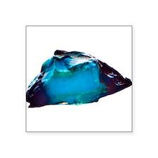 """Origins of Blue Square Sticker 3"""" x 3"""""""