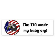 TSA/Baby Bumper Bumper Sticker