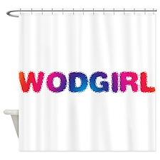 WODGirl - Rainbow Shower Curtain