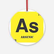 Arsenic Element Ornament (Round)