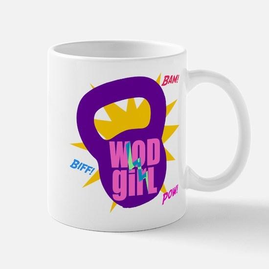 WODGirl Kettlebell Mug